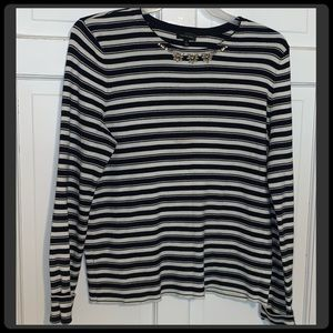 🆕 The Limited Embellished Sweater Sz L